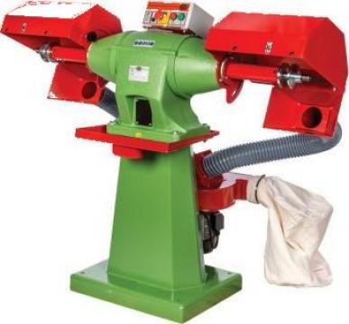 Masina industriala de polisat cu perie 300 mm PA-8 de la Proma Machinery Srl.