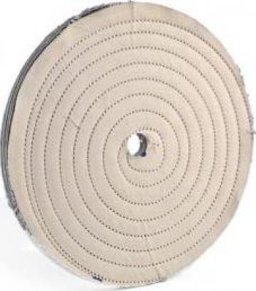 Perie abraziva din material textil DCT150 de la Proma Machinery Srl.