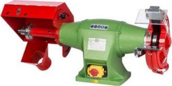 Polizor de banc combinat cu perie si disc 250 mm C-3 de la Proma Machinery Srl.