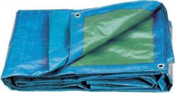 Prelata polipropilena pentru protectie utilaje 4x5 m 0282