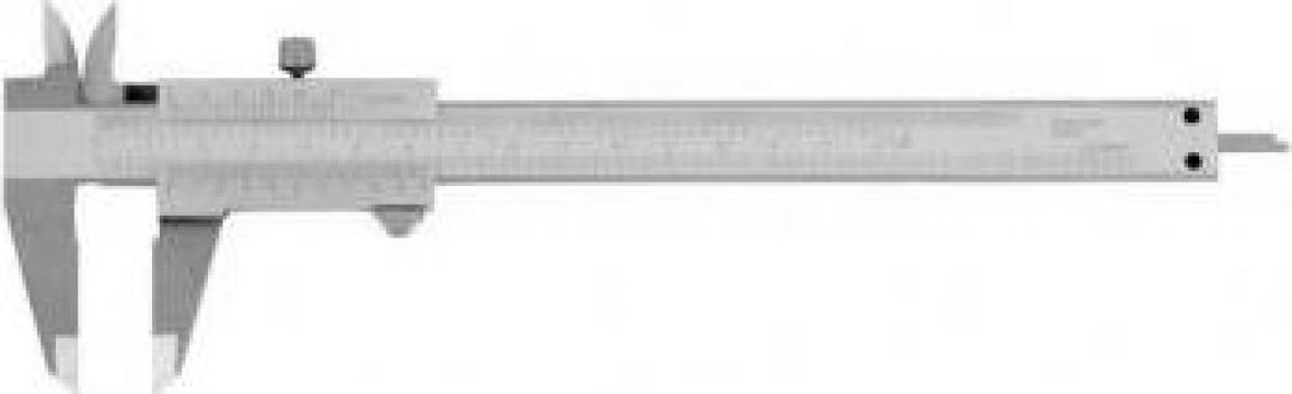 Subler inox 200 mm C011/200 de la Proma Machinery Srl.