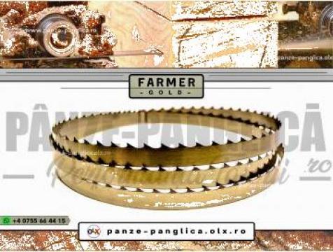 Panza panglica banzic Farmer 4300x40x1 I Lemn I Premium Gold de la Panze Panglica Srl