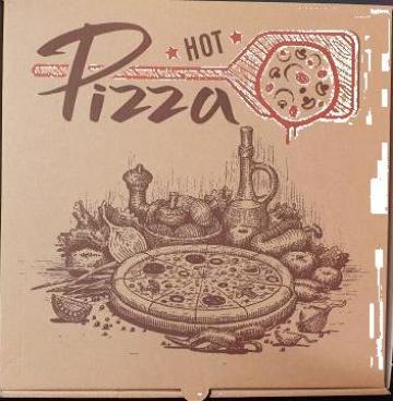 Cutie natur Hot Pizza 30x30x3,5cm 50 buc/set de la Cristian Food Industry Srl.