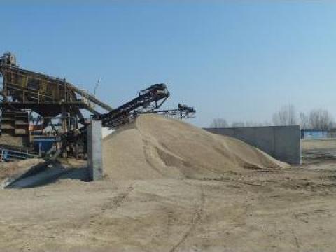 Nisip, piatra diferite granulatii de la A& M Paun