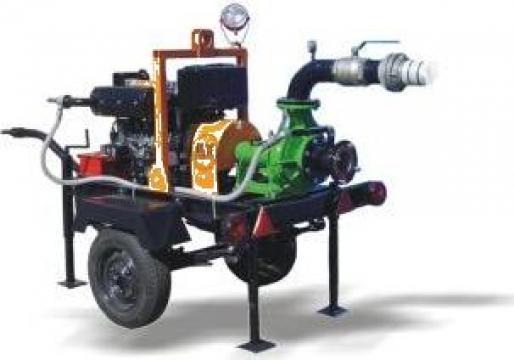 Motopompa pentru irigatii ELC 5000 de la Electrofrane