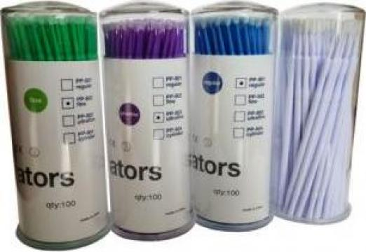 Betisoare microbrush pentru gene false de la Bliss Cosmetics