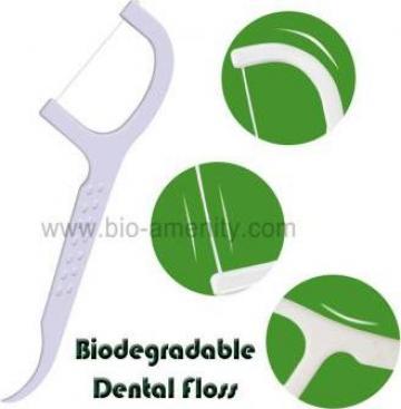 Ata dentara Eco Friendly Dental Floss Pick de la Uniquely Industrial Limited