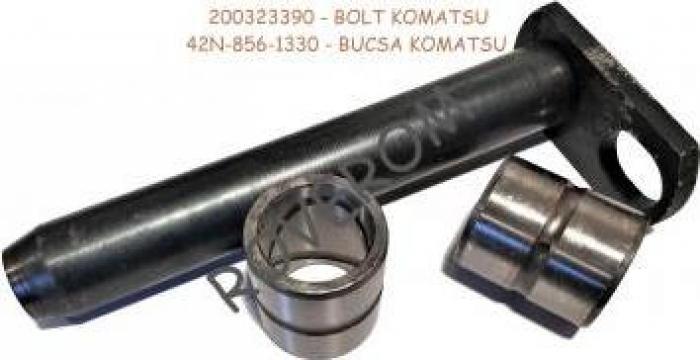Bolt cu bucse cupa fata Komatsu WB91, WB93, WB95