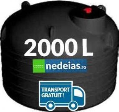 Rezervor subteran vertical neted de 2000 litri de la Nedeias Com Srl