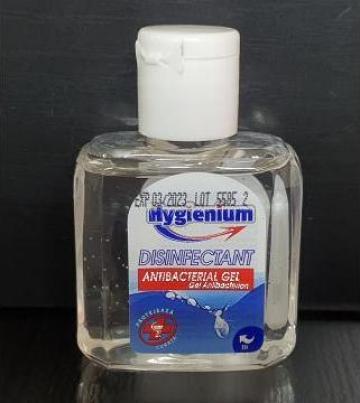 Gel antibacterian dezinfectant Hygienium 50ml de la Cristian Food Industry Srl.