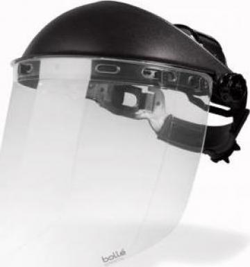 Masca faciala + viziera protectie reglabila, viziera profi de la Teom Tech Srl