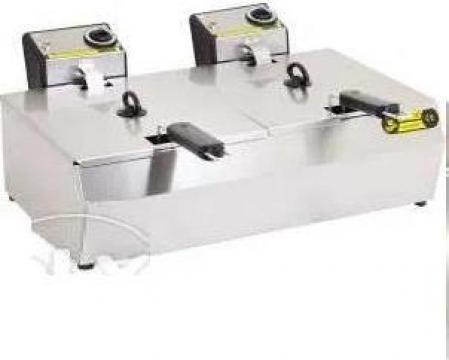 Friteuza 8 + 8 litri, electrica de la Horeca Concept