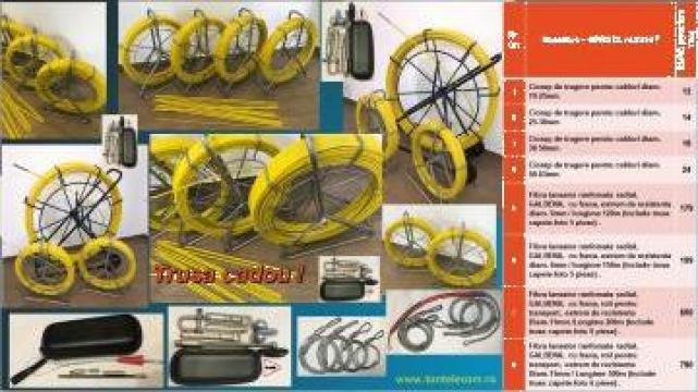 Tragator cablu / lansator fibra de la Ton Telecom
