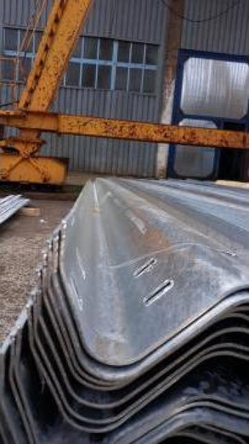 Parapet pentru drum zincat