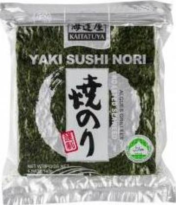 Alge nori pentru sushi intregi Kaitatuya