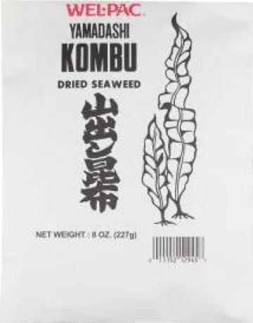 Alge uscate Kombu