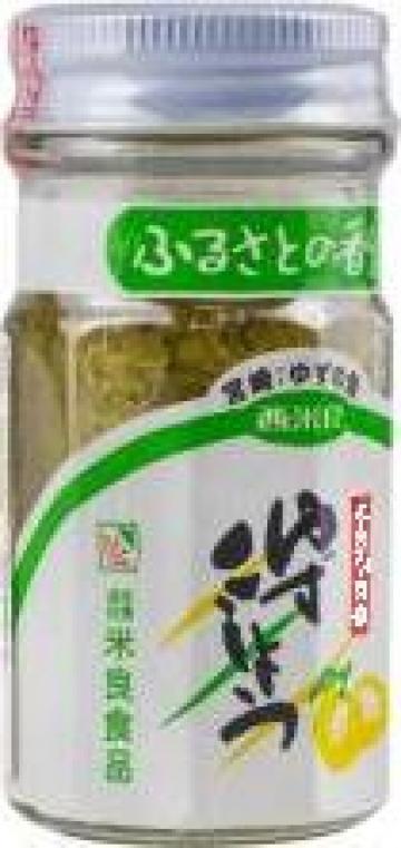 Pasta din yuzu cu chilli borcan de 50 gr Yuzu Kosho de la Expert Factor Foods Srl