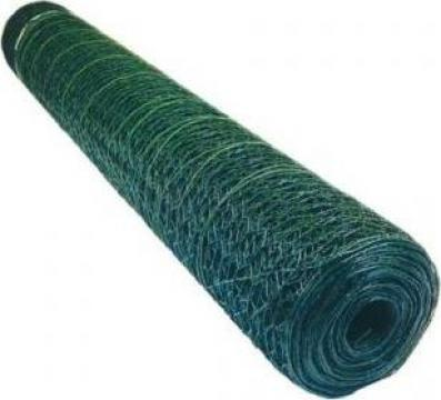 Plasa sarma rabitz plastifiata 1.0x25m