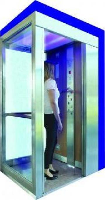 Sistem decontaminare aer din ascensoare Uveco de la Elmas