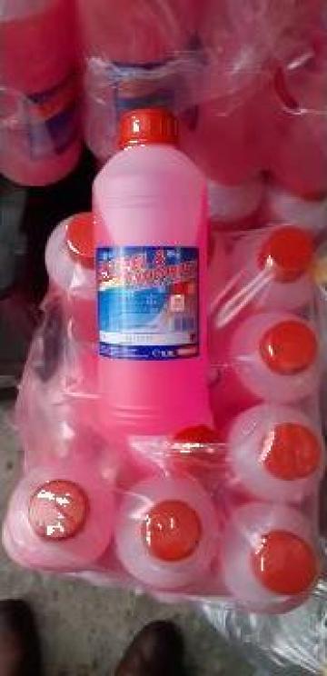 Antigel concentrat roz G12 0.9 litru de la Emcom Invest Serv Srl