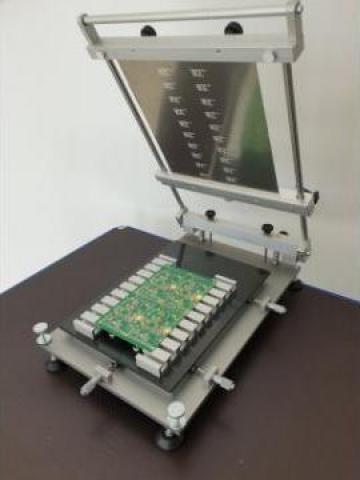 Dispozitiv printer pentru aplicat pasta de lipit