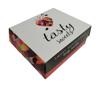 Cutie prajituri N2 (10x13x8cm) Tasty Sweets de la Cristian Food Industry Srl.