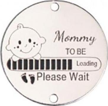 Bratara Mommy to Be, banut Ag 925 viitoare mamica