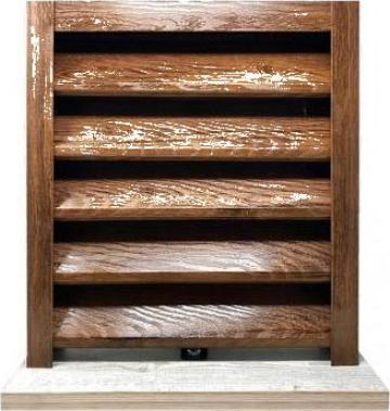 Gard metalic - jaluzele Sigma 2000x1260 mm imitatie lemn de la Vindem-ieftin.ro