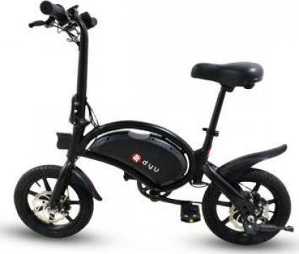 Bicicleta electrica pliabila, roti 14 DYU, D3F, Megawheels de la Mobilab Creations Srl