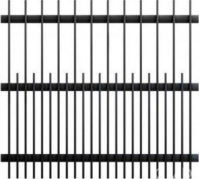Gard din teava profilata GP180 2000X2000