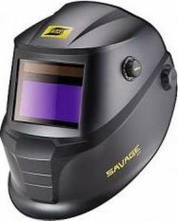 Masca de sudura automata Esab Savage A40, neagra de la Sudometal Srl