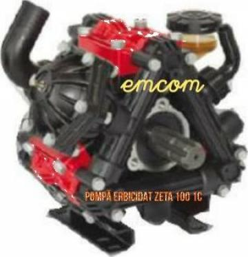 Pompa masina erbicidat Zeta 100 1C de la Emcom Invest Serv Srl