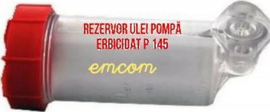 Rezervor ulei pompa erbicidat P 145 de la Emcom Invest Serv Srl