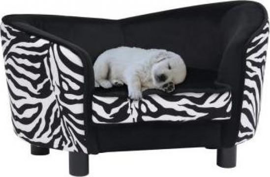 Canapea pentru caini, negru, 68 x 38 x 38 cm, plus de la Vidaxl