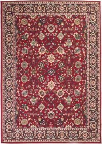 Covor oriental, rosu/bej, 160 x 230 cm de la Vidaxl
