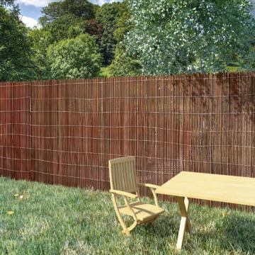 Gard din salcie, 5 x 1,2 m de la Vidaxl