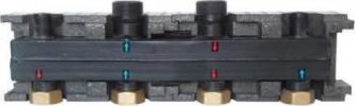 Distribuitor compact Pumpfix 2 circuite Herz