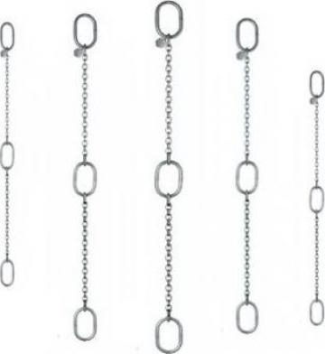 Lant inox de ridicare cu inele intermediare de la Adyson Innovation SRL
