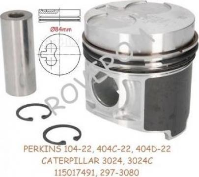 Piston kit STD Perkins 404C-22, 404D-22, Caterpillar 3024