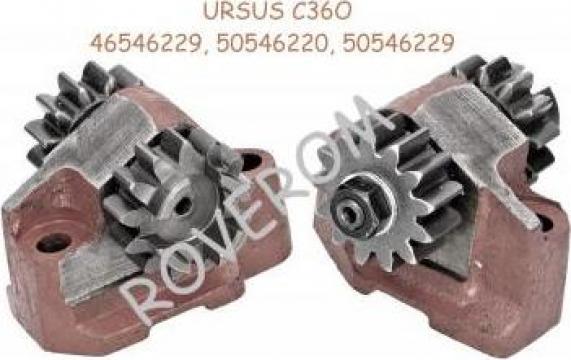 Suport cu pinioane, actionare pompa hidraulica Ursus C360