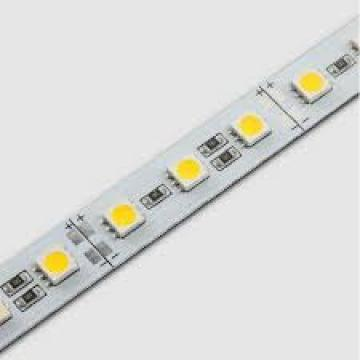 Banda LED rigida alb rece 78 LED-uri