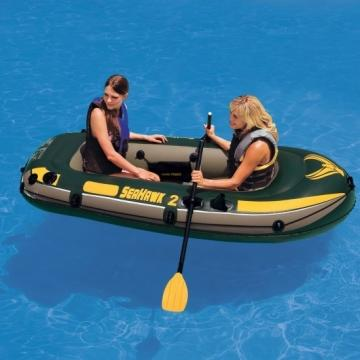Barca gonflabila pentru 2 persoane Seahawk II Intex 68347 cu