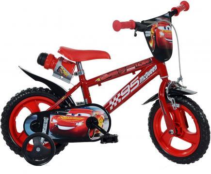 Bicicleta copii 12'' Cars de la A&P Collections Online Srl-d
