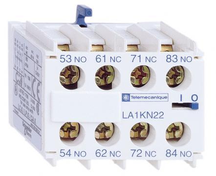 Bloc contacte auxiliare 3NO+1NC, Schneider LA1KN31 de la Kalva Solutions Srl