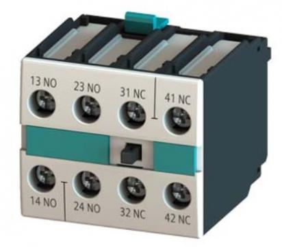 Bloc contacte auxiliare Siemens 2NO+2NC 3RH1921-1FA22 de la Kalva Solutions Srl