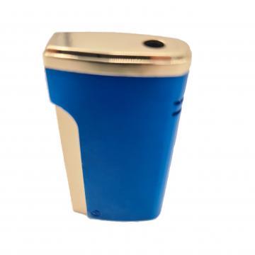 Bricheta metalica, gaz, antivant, cutie, albastru de la Dali Mag Online Srl
