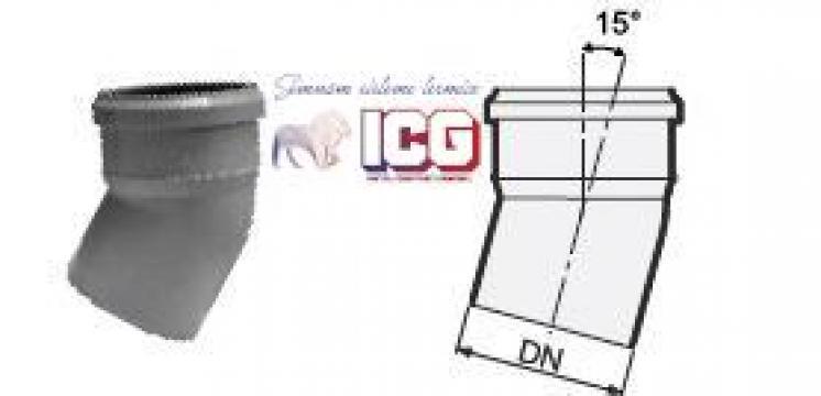 Cot polipropilena pentru canalizare D.50mm la 15 de la ICG Center