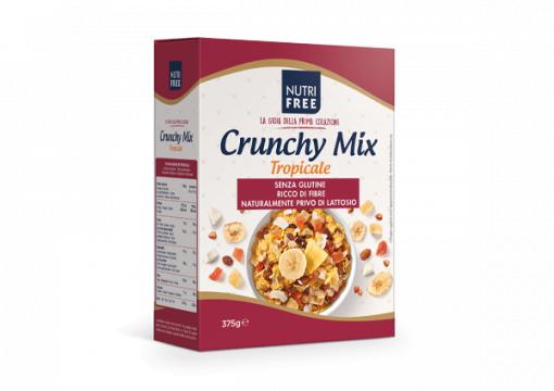 Fulgi de cereale Crunchy Mix Tropicale 375g de la Naturking Srl