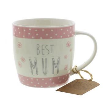 Cana cadou pentru mama Best Mum de la Krbaby.ro - Cadouri Bebelusi