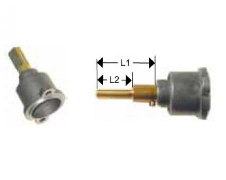 Cap robinet gaz PEL 22 lungime ax 28/13m de la Kalva Solutions Srl